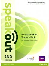 کتاب معلم اسپیک اوت پری اینترمدیت ویرایش دوم Speakout 2nd Pre-Intermediate Teachers Book +CD