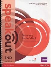 کتاب معلم اسپیک اوت المنتری ویرایش دوم Speakout 2nd Elementary Teachers Book+CD