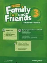 کتاب فمیلی اند فرندز پلاس 3 ویرایش دوم Family and Friends 2nd 3 Teachers Book Plus