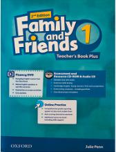 کتاب معلم فمیلی اند فرندز پلاس 1 ویرایش دوم  Family and Friends 2nd 1 Teachers Book Plus