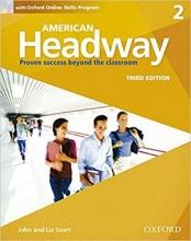 کتاب امریکن هدوی 2 ویرایش سوم American Headway 2 3rd SB+WB+DVD