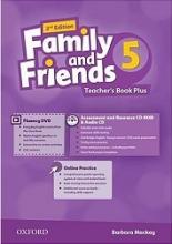 کتاب معلم امریکن فمیلی اند فرندز 5 ویرایش دوم American Family and Friends 2nd 5 Teachers book+CD