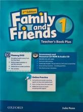 کتاب معلم فمیلی اند فرندز 1 ویرایش دوم American Family and Friends 2nd 1 Teachers book+CD