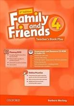 کتاب معلم امریکن فمیلی اند فرندز 4 ویرایش دوم American Family and Friends 2nd 4 Teachers book+CD