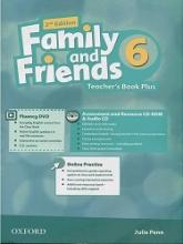 کتاب معلم امریکن فمیلی داند فرندز 6 ویرایش دوم  American Family and Friends 2nd 6 Teachers book+CD