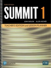 کتاب Summit 3rd 1 Teachers book+DVD
