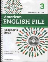 کتاب معلم امریکن انگلیش فایل 3 ویرایش دوم  American English File 3 Teachers Book+CD 2nd Edition