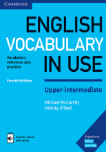 کتاب  English Vocabulary in Use Upper-Intermediate 4th+CD