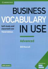 کتاب Business Vocabulary in Use Advanced 3rd