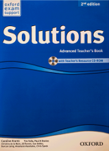 کتاب معلم سولوشنز ادونسد ویرایش دوم  Solutions Advanced Teachers Book 2nd