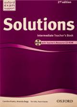 کتاب معلم سولوشنز اینترمدیت ویرایش دوم  Solutions Intermediate Teachers Book 2nd
