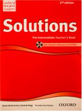 کتاب معلم سولوشنز پری اینترمدیت ویرایش دوم Solutions Pre-Intermediate Teachers Book 2nd