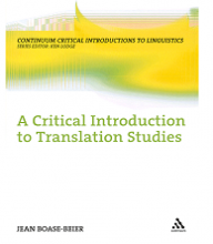کتاب A Critical Introduction to Translation Studies