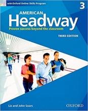 کتاب امریکن هدوی 3 ویرایش سوم American Headway 3 3rd SB+WB+CD