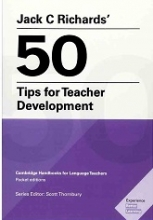 کتاب 50Tips for Teacher Development