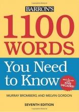 کتاب 1100Words You Need to Know 7th-Barrons متن اصلی