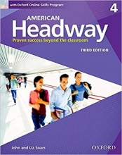 کتاب امریکن هدوی 4 ویرایش سوم American Headway 4 3rd SB+WB+DVD