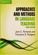 کتاب اپروچز اند متدز این لنگوویج تیچینگ ویرایش سوم Approaches and Methods in Language Teaching 3rd edition جک ریچاردز