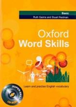 کتاب آکسفورد ورد اسکیلز بیسیک Oxford Word Skills Basic