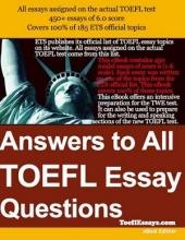 کتاب  Answers to all TOEFL Essay Questions
