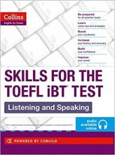 کتاب Collins Skills for The TOEFL iBT Test: Listening and Speaking+CD