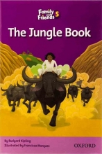 کتاب Family and Friends Readers 5 The Jungle Book