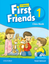 کتاب First Friends 1 (2nd) SB+WB+Maths book+CD