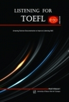 کتاب LISTENING FOR TOEFL Amazing Science Documentaries to Improve Listening Skill