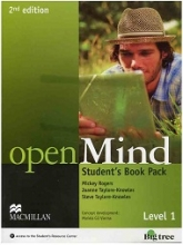 کتاب Open Mind 1 2nd SB+WB+2CD