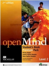 کتاب Open Mind 2 2nd SB+WB+2CD