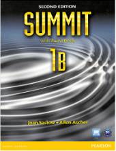 کتاب ساميت 1B ویرایش دوم Summit 1B SB+WB+CD