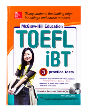 کتاب McGraw-Hill Education TOEFL iBT with 3 Practice