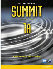 کتاب ساميت 1A ویرایش دوم Summit 1A SB+WB+CD