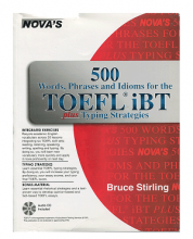 کتاب NOVAS 500Words Phrases Idioms for the TOEFL iBT