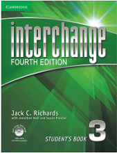 کتاب اینترچنج 3 ویرایش چهارم Interchange 3 (4th) Sb+Wb+CD