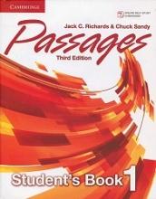 کتاب  Passages Level 1 (S.B+W.B+CD) 3rd edition