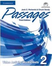 کتاب پسیجز ویدئو اکتیویتی 2 ویرایش سوم Passages 3rd 2 video Activities