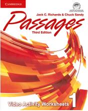 کتاب پسیجز ویدئو اکتیویتی 1 ویرایش سوم Passages 3rd 1 video Activities