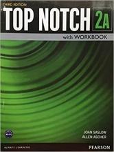 کتاب آموزشی تاپ ناچ 2A ویرایش سوم Top Notch 2A with Workbook Third Edition