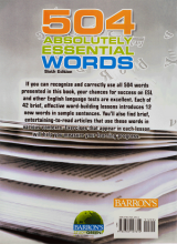 کتاب 504Absolutely Essential Words 6th+CD