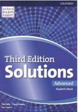 کتاب آموزشی سولوشنز ادونسد ویرایش سوم Solutions Advanced 3rd Edition