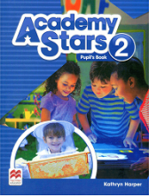 کتاب Academy Stars 2 Pupils Book+WB+CD