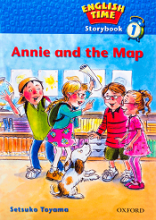 کتاب English Time Storybook 1 Annie And The Map