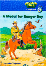 کتاب English Time Storybook 4 A Medal for Ranger Day