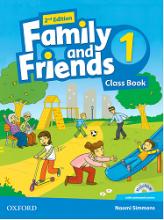 کتاب فمیلی اند فرندز 1 بیریتیش ویرایش دوم British Family and Friends 1 2nd SB+WB+DVD