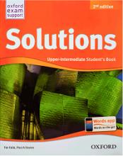 کتاب سولوشنز آپر اینترمدیت ویرایش جدید New Solutions Upper-Intermediate SB+WB+CD+DVD