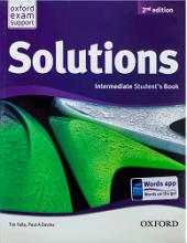 کتاب سولوشنز اینترمدیت ویرایش جدیدNew Solutions Intermediate SB+WB+CD+DVD