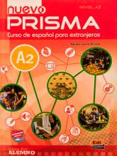 کتاب زبان اسپانیایی نوو پریزما  (Nuevo Prisma A2 (SB+WB+CD