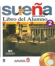 کتاب Suena 2. Libro del Alumno B1. Marco europeo de referencia + CD