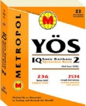 کتاب Yos Soru Bank IQ Question bank 2
